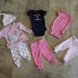 Baby Girl Preemie Bundle